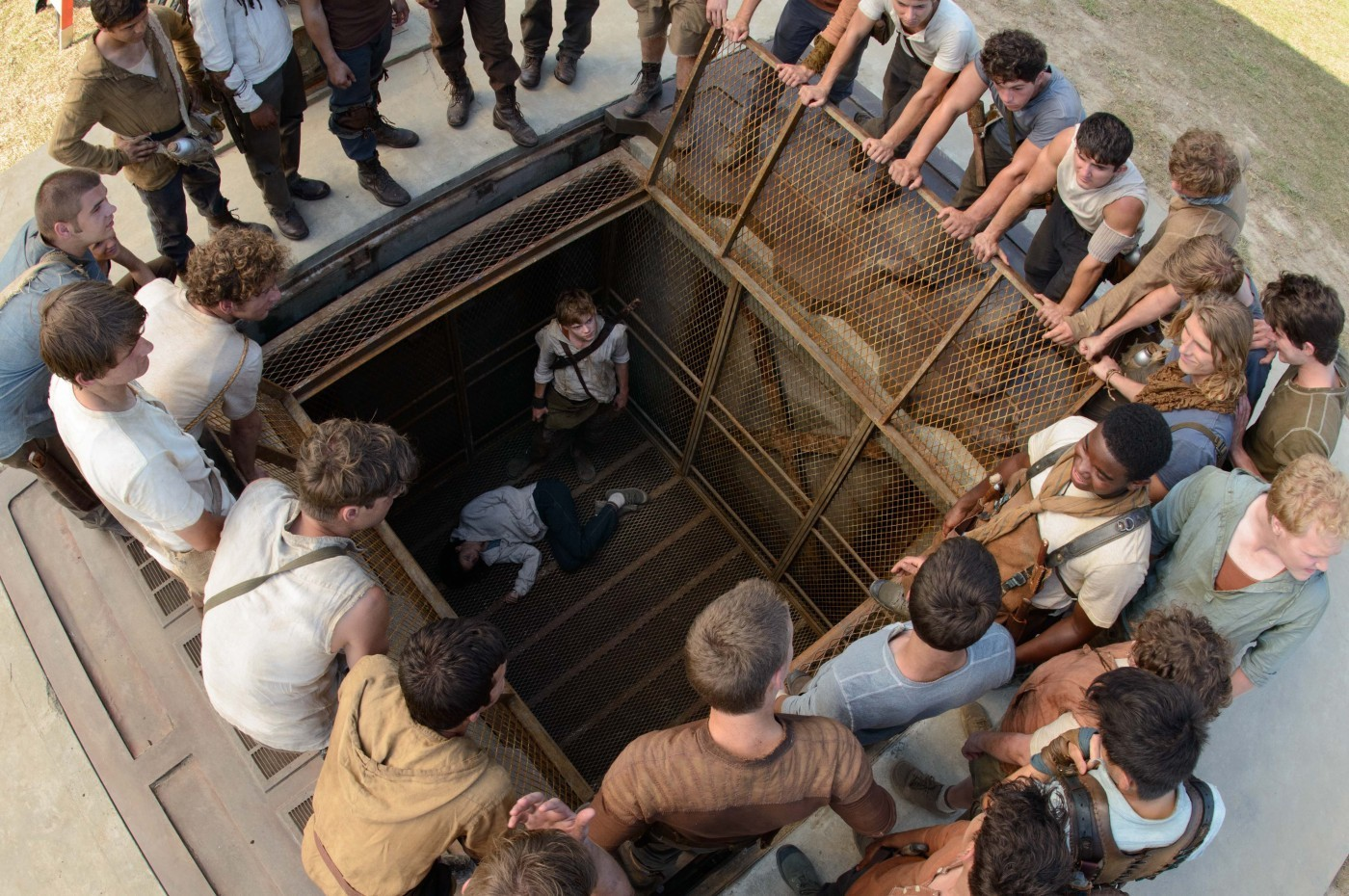 Scene from 20th century fox s the maze runner 2014
