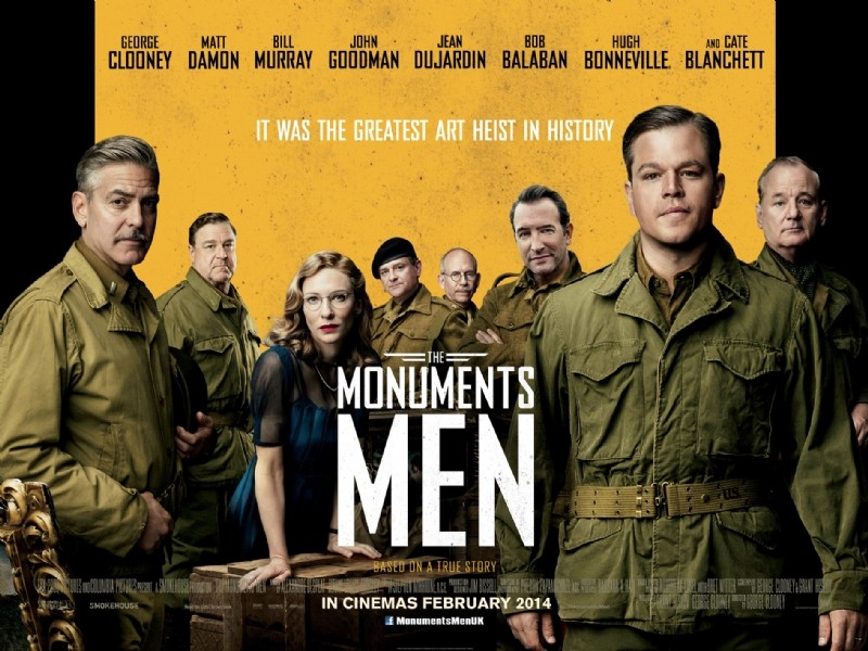 Poster of Columbia Pictures' The Monuments Men (2014)