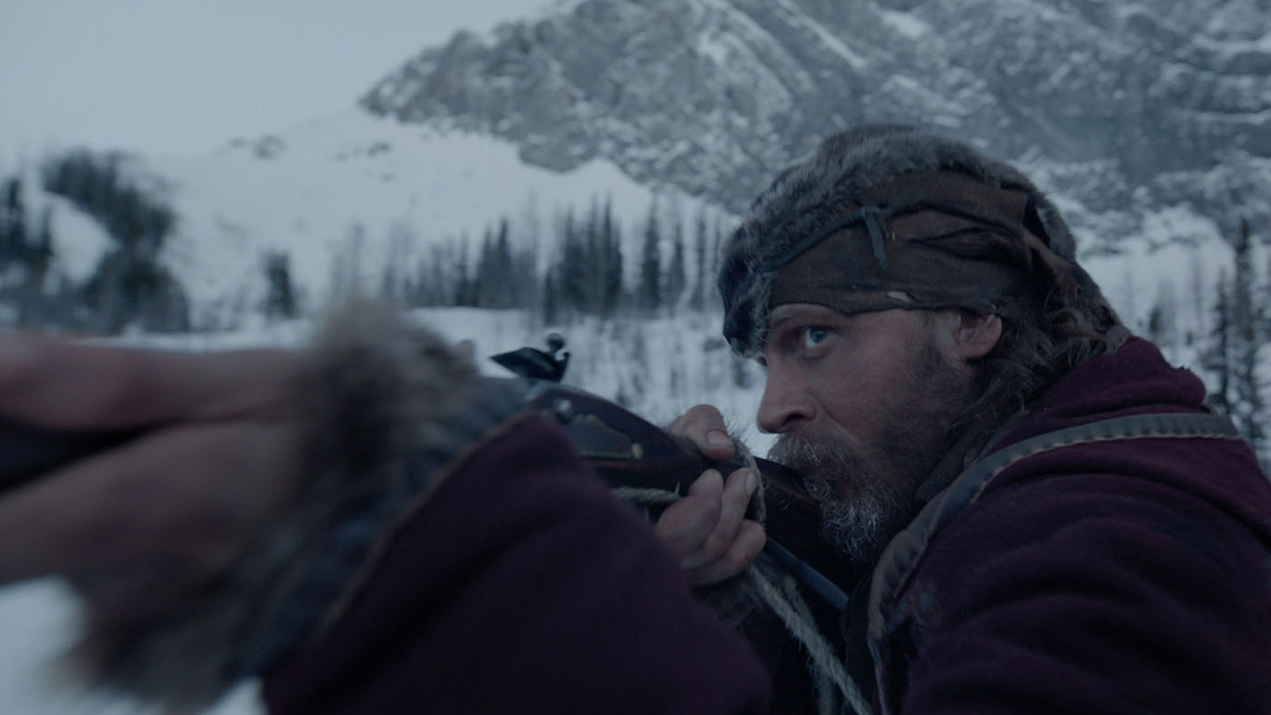 Tom Hardy stars as John Fitzgerald in 20th Century Fox's The Revenant (2015)