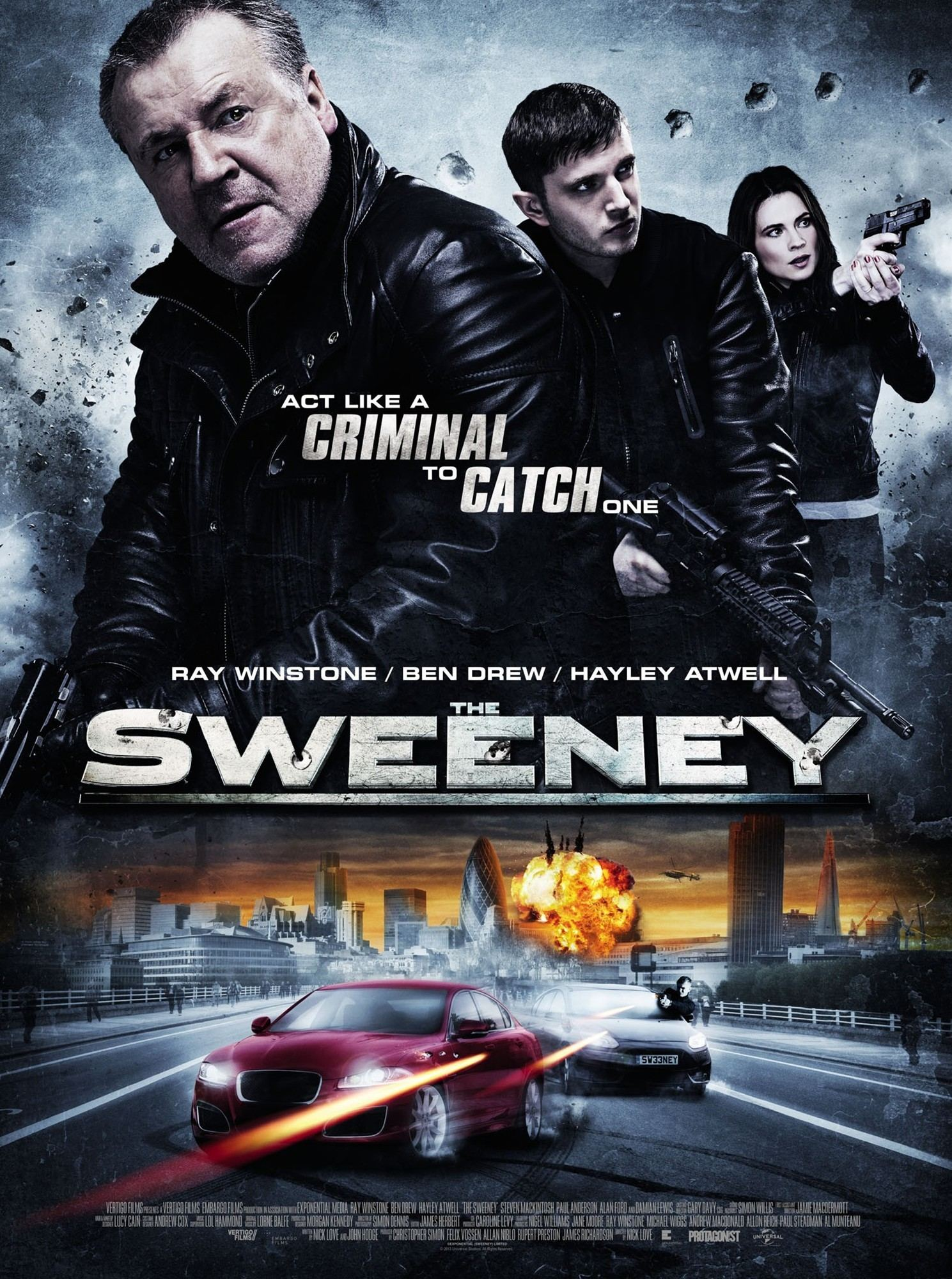 The Sweeney BRRip XviD