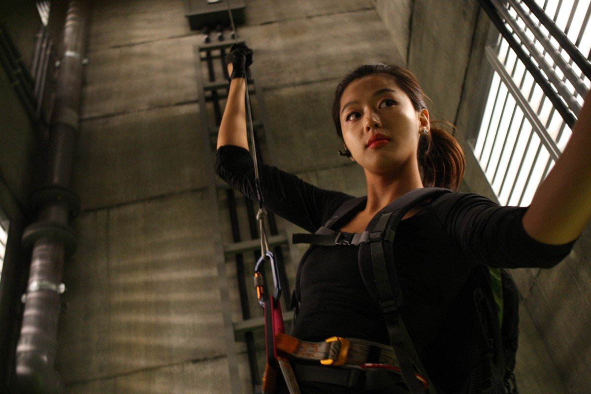 Jeon Ji Hyun stars as Yenicall in Well Go USA's The Thieves (2012)