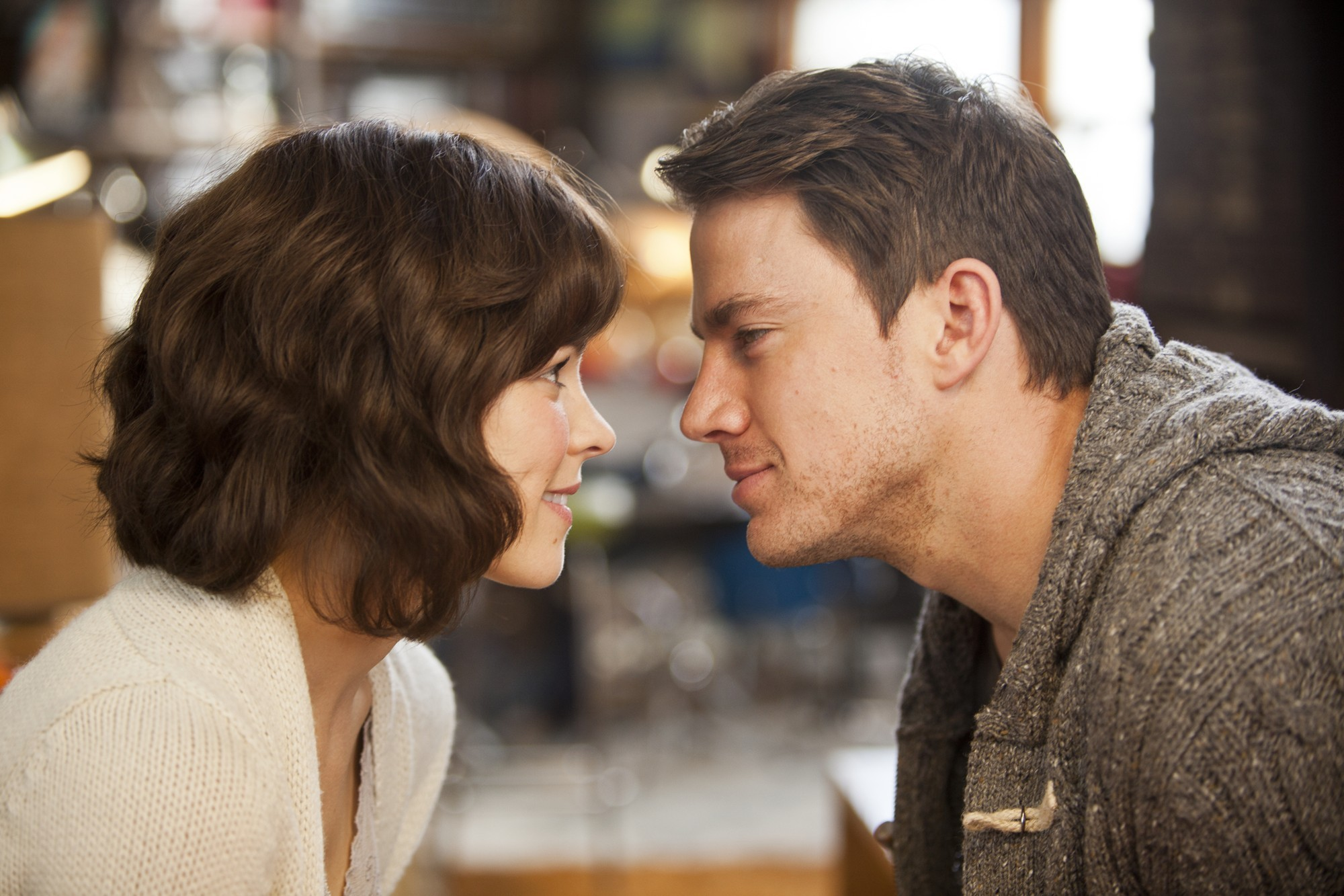 Rachel McAdams stars as Paige and Channing Tatum stars as Leo in Screen Gems' The Vow (2012)