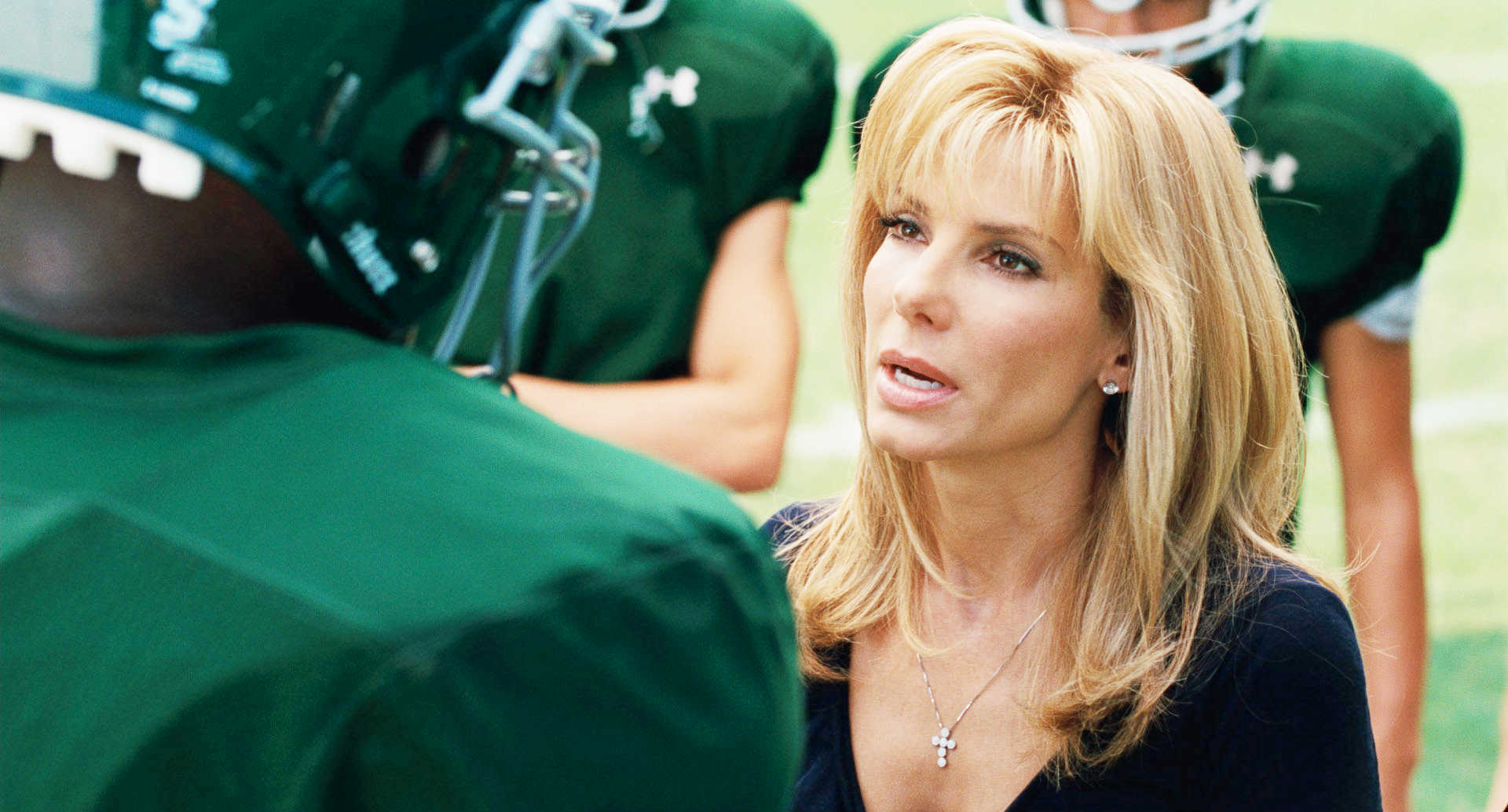 Sandra Bullock stars as Leigh Anne Touhy in The 20th Century Fox's The Blind Side (2009)