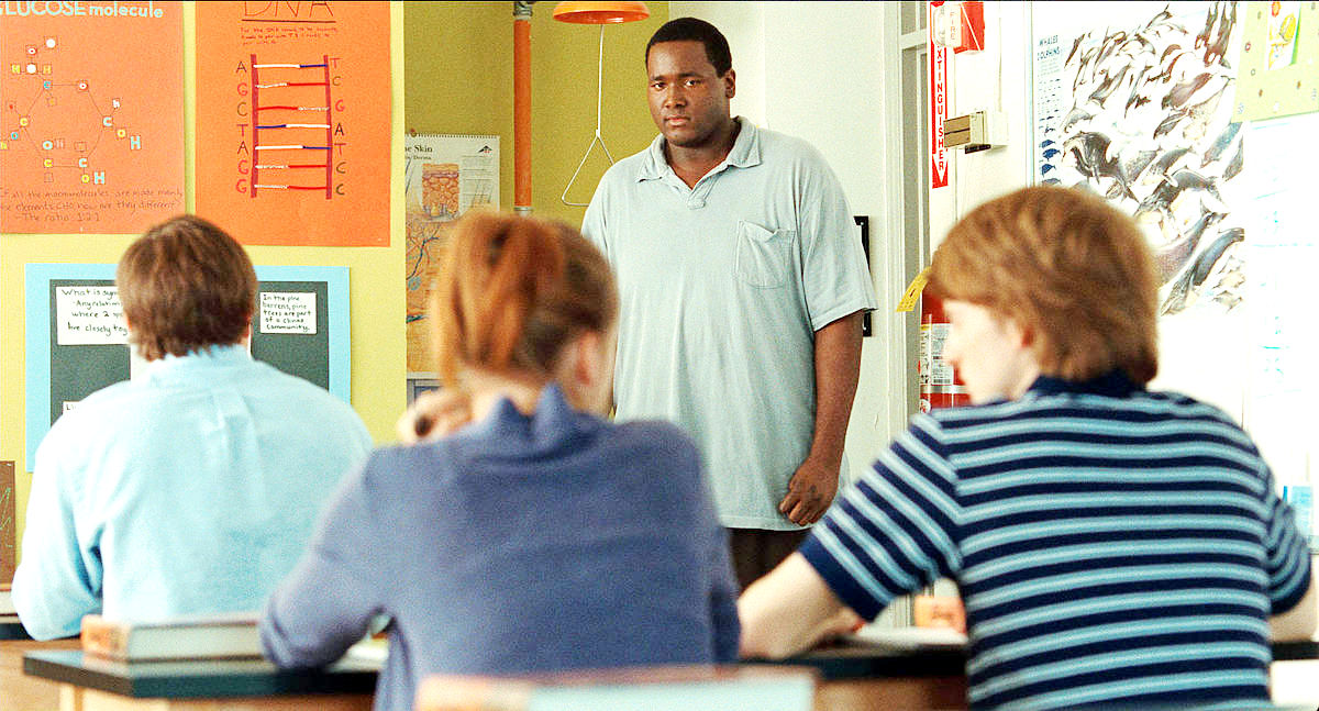 African Essay Quinton Aaron Stars As Michael Oher In The Th Century Foxs The Blind Side   Essay Outline Format also Custom Written Essay The Blind Side Picture  Exemplification Essay