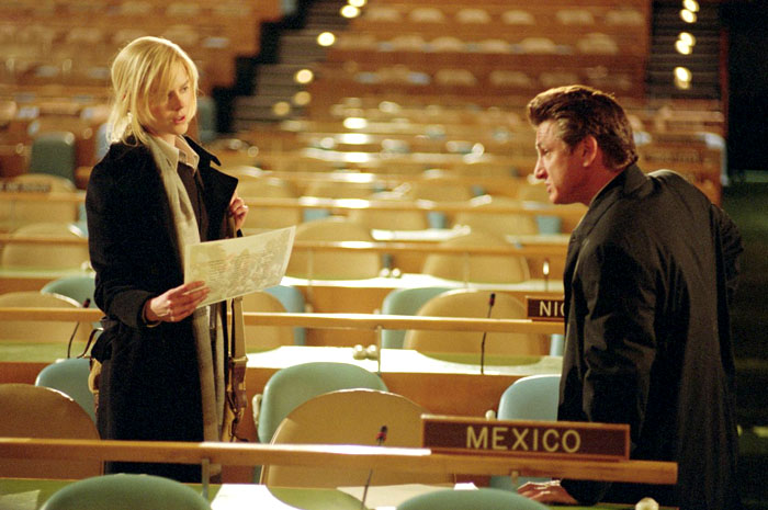 Nicole Kidman and Sean Penn in Universal Pictures' The Interpreter (2005)
