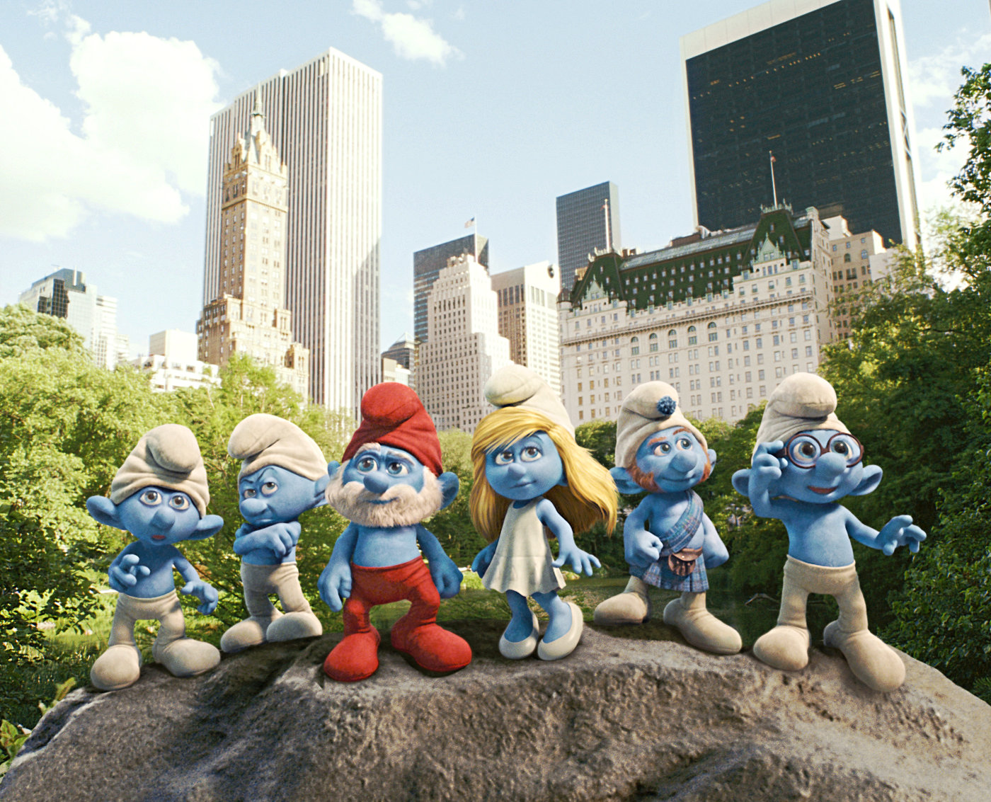 A scene from Columbia Pictures' The Smurfs (2011)