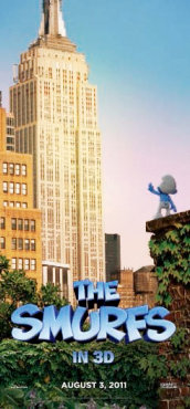 Poster of Columbia Pictures' The Smurfs (2011)
