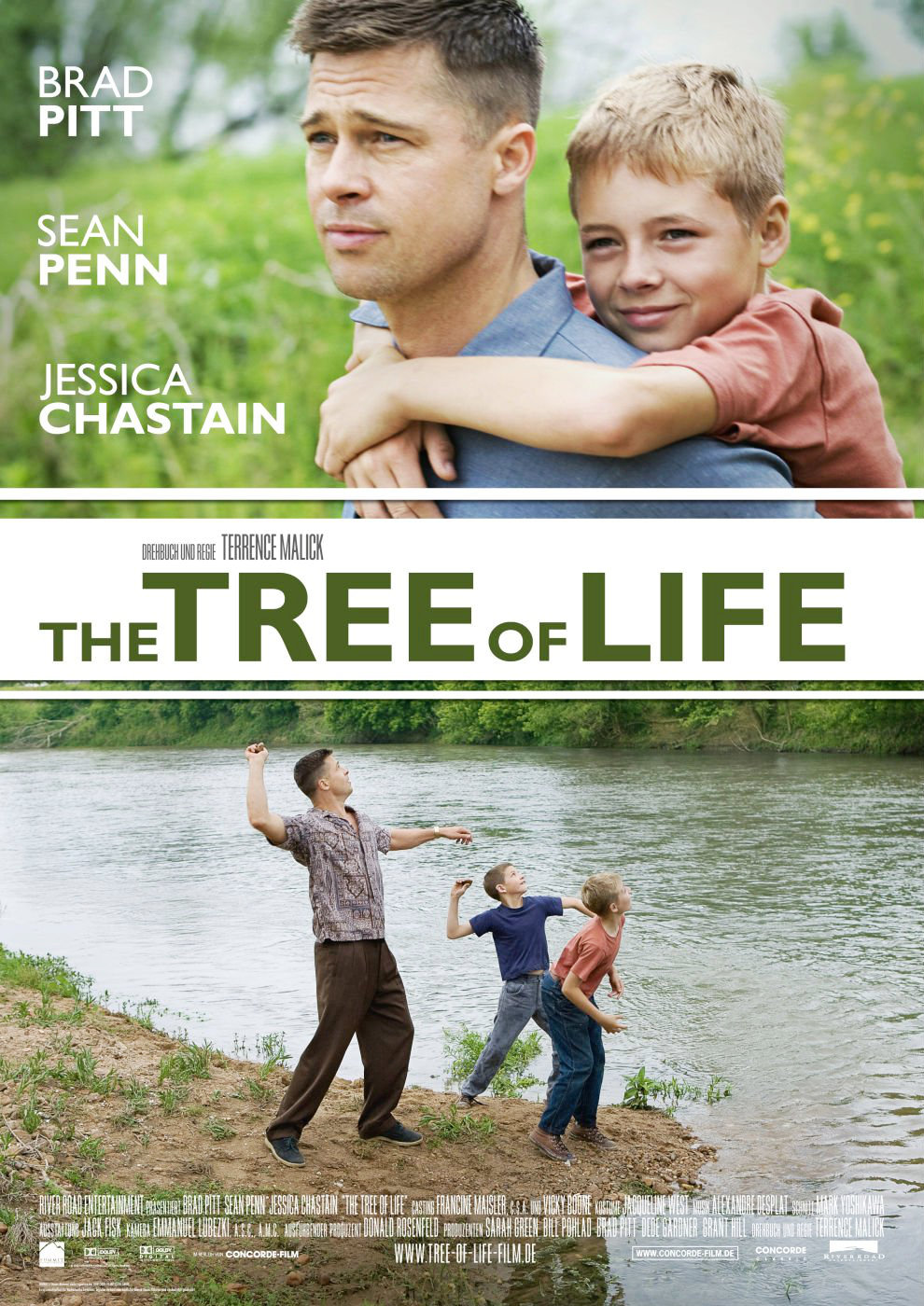 Poster of Fox Searchlight Pictures' The Tree of Life (2011)