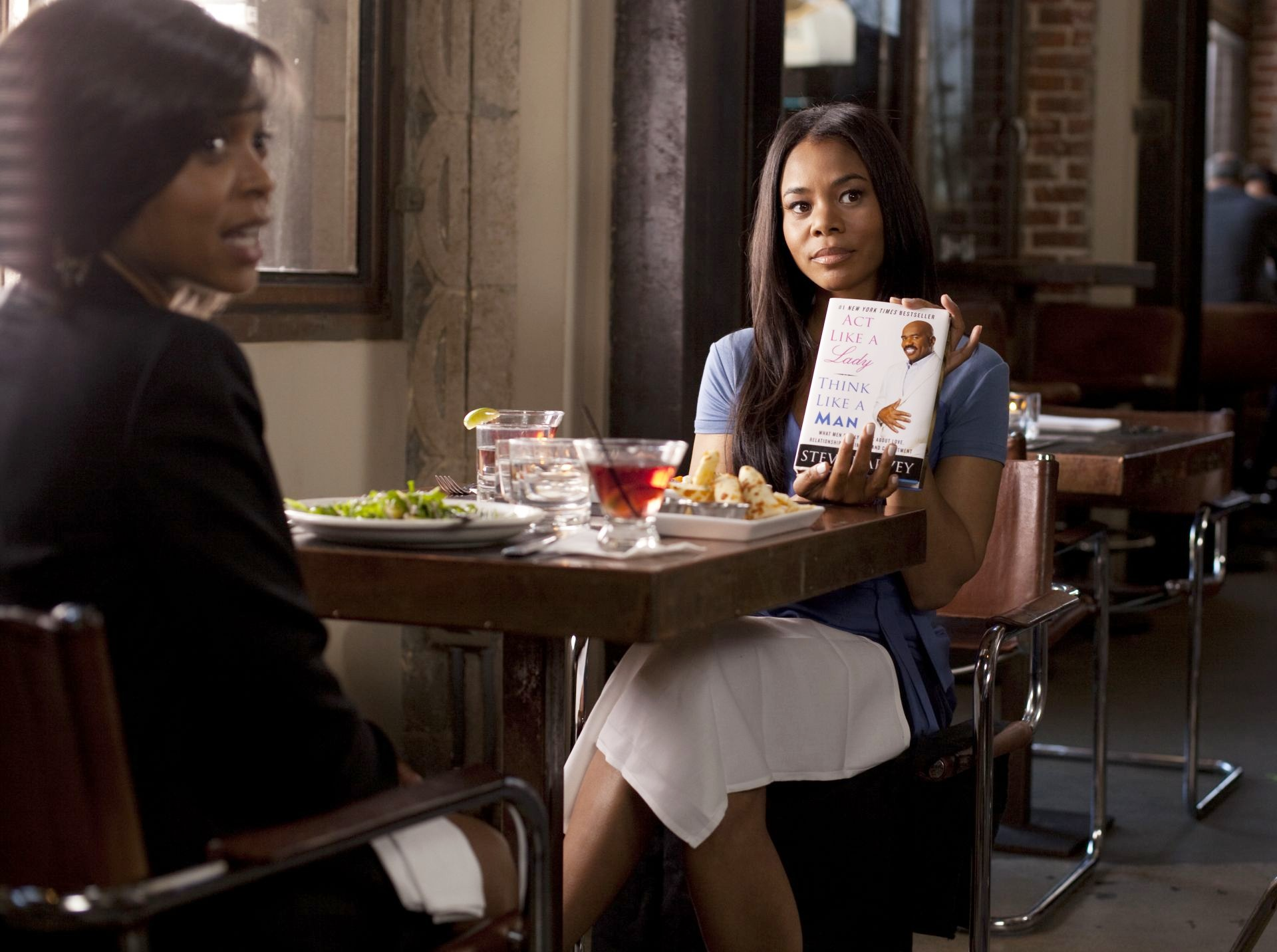 Taraji P. Henson stars as Lauren and Regina Hall stars as Candice in Screen Gems' Think Like a Man (2012). Photo credit by Photo by Alan Markfield.