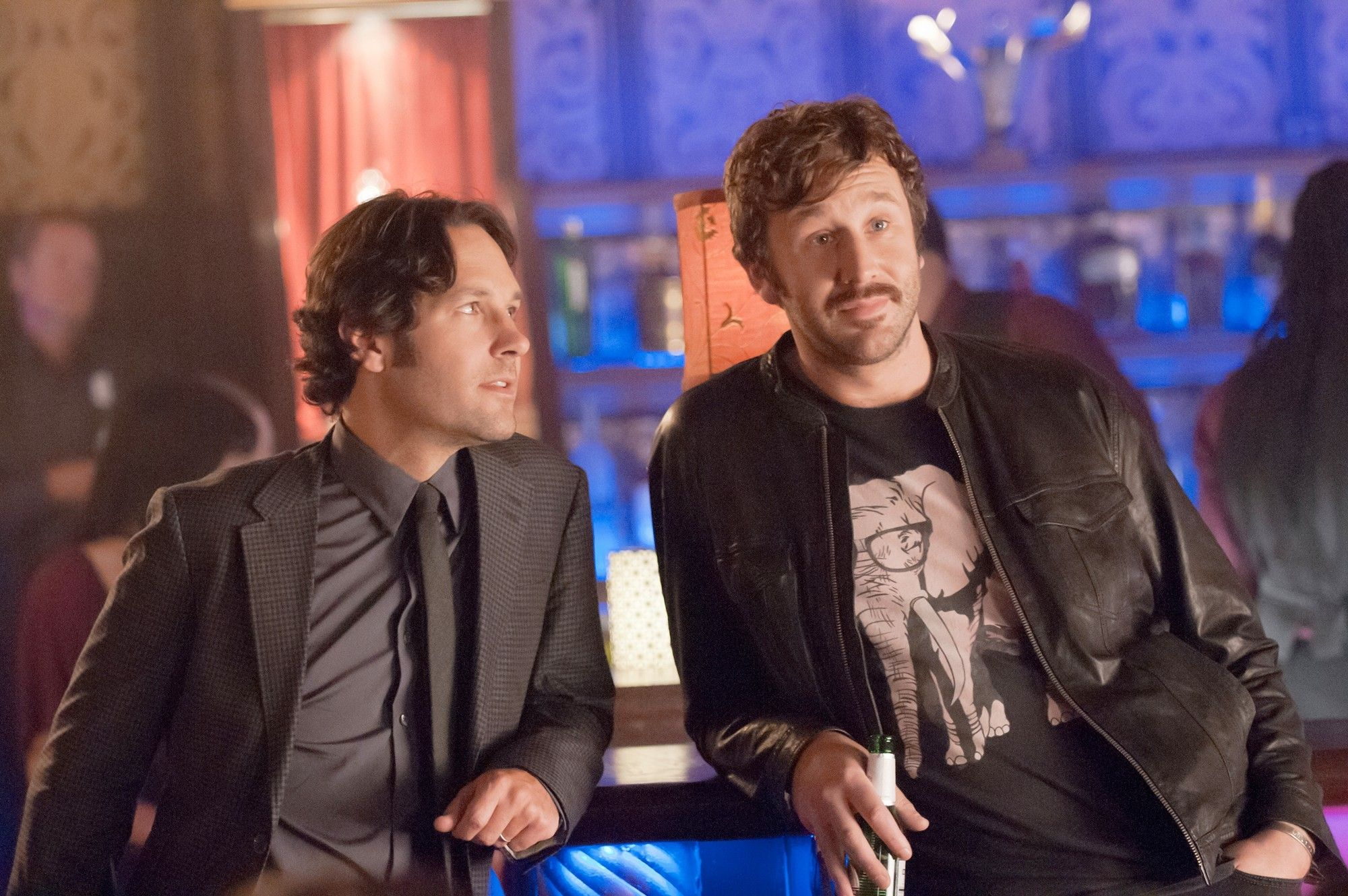 Paul Rudd stars as Pete and Chris O'Dowd stars as Ronnie in Universal Pictures' This Is 40 (2012)