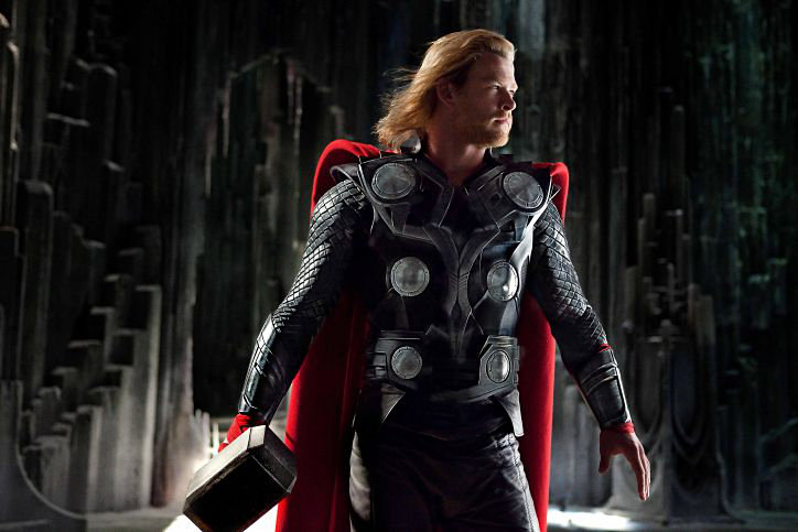 Chris Hemsworth stars as Thor in Paramount Pictures' Thor (2011)