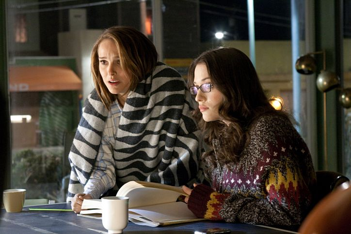 Natalie Portman stars as Jane Foster and Kat Dennings stars as Darcy in Paramount Pictures' Thor (2011)
