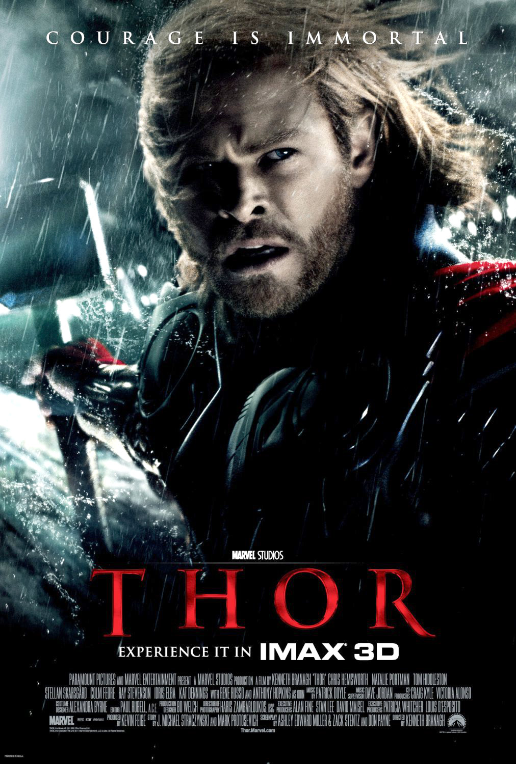 Poster of Paramount Pictures' Thor (2011)