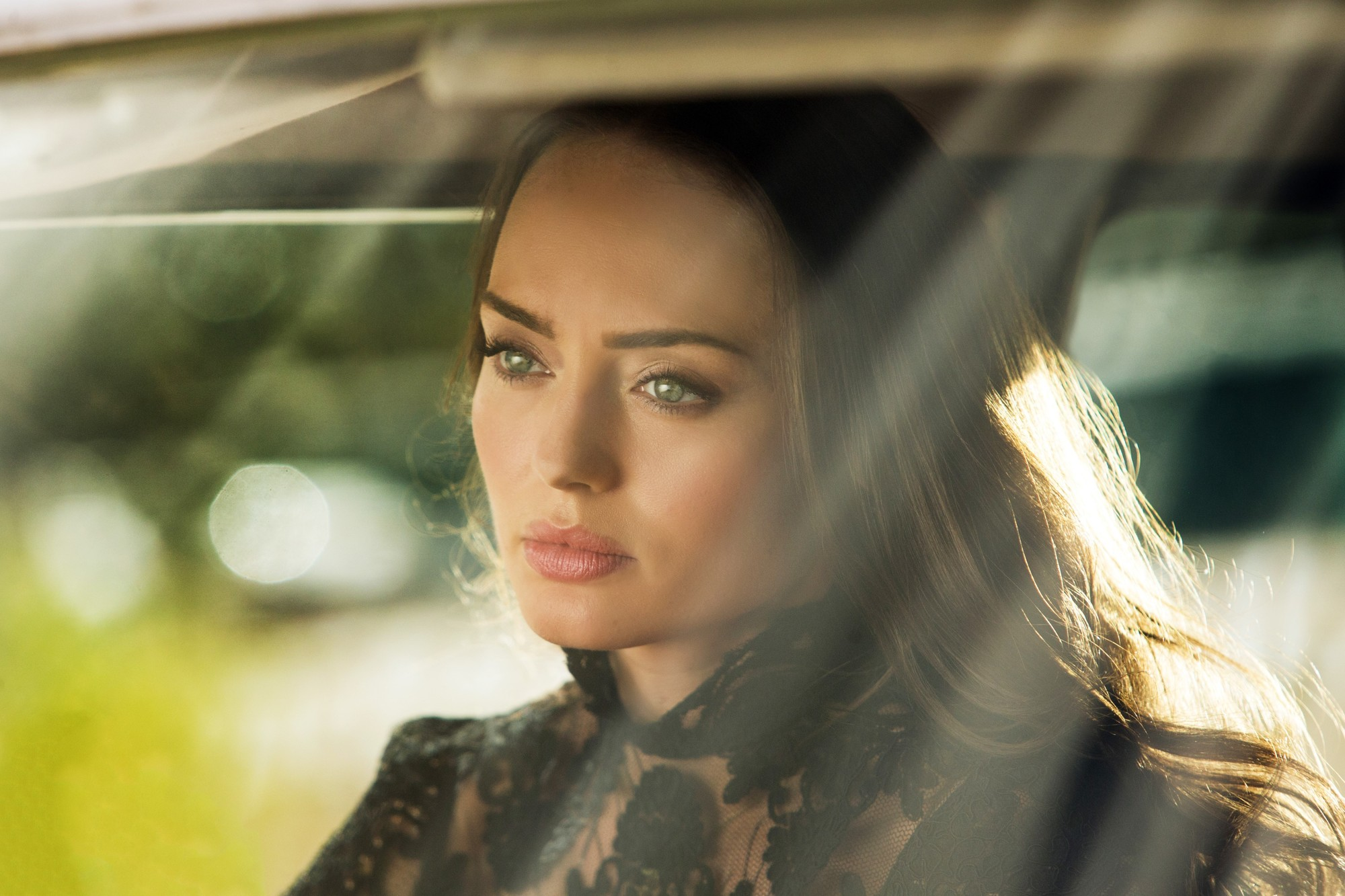 Laura Haddock stars as Vivian Wembley in Paramount Pictures' Transformers: The Last Knight (2017)