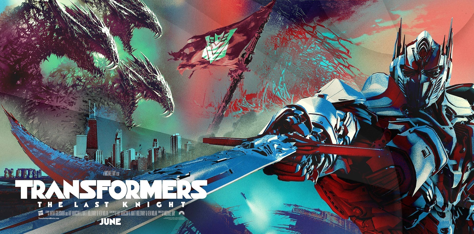 Poster of Paramount Pictures' Transformers: The Last Knight (2017)