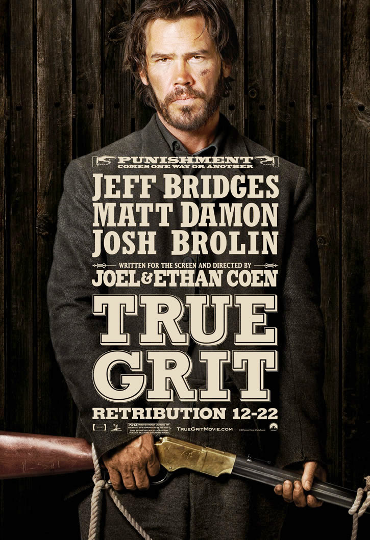 Poster of Paramount Pictures' True Grit (2010)