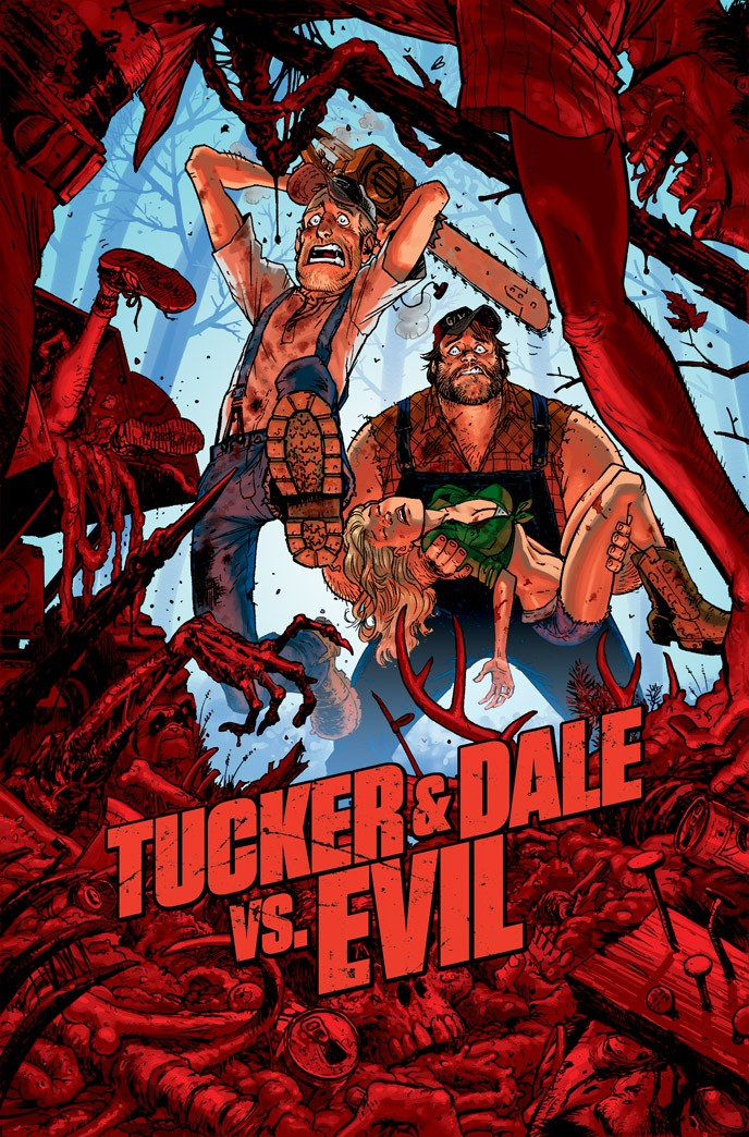 Poster of magnolia pictures tucker dale vs evil 2011