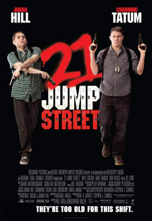 Poster of Columbia Pictures' 21 Jump Street (2012)