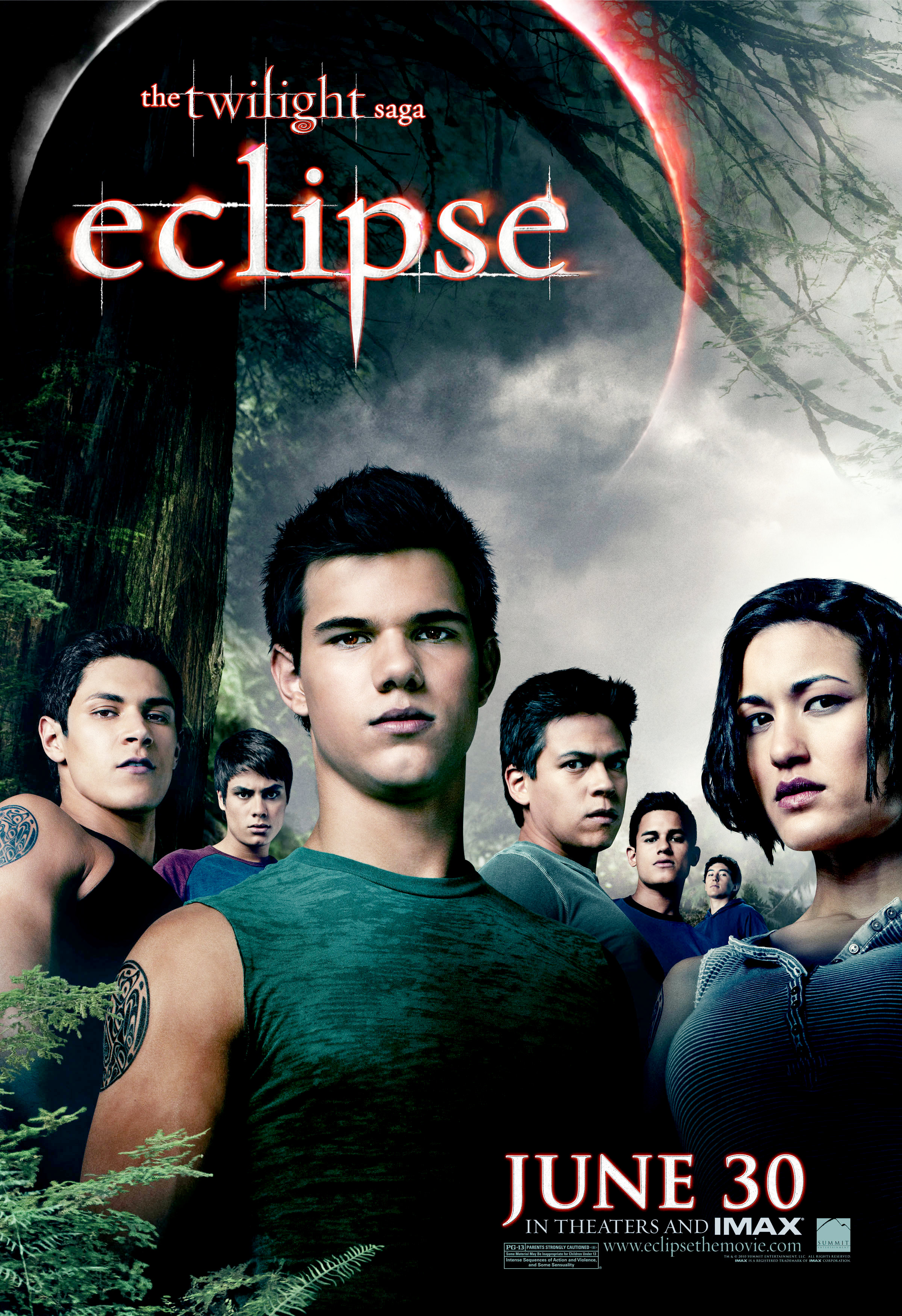 New 'Eclipse' Posters Bring Out the Cullens and the Wolf Pack