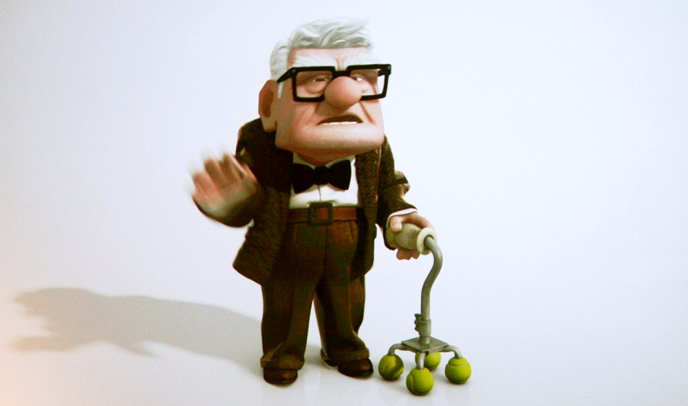 A scene from Buena Vista Pictures' Up (2009)