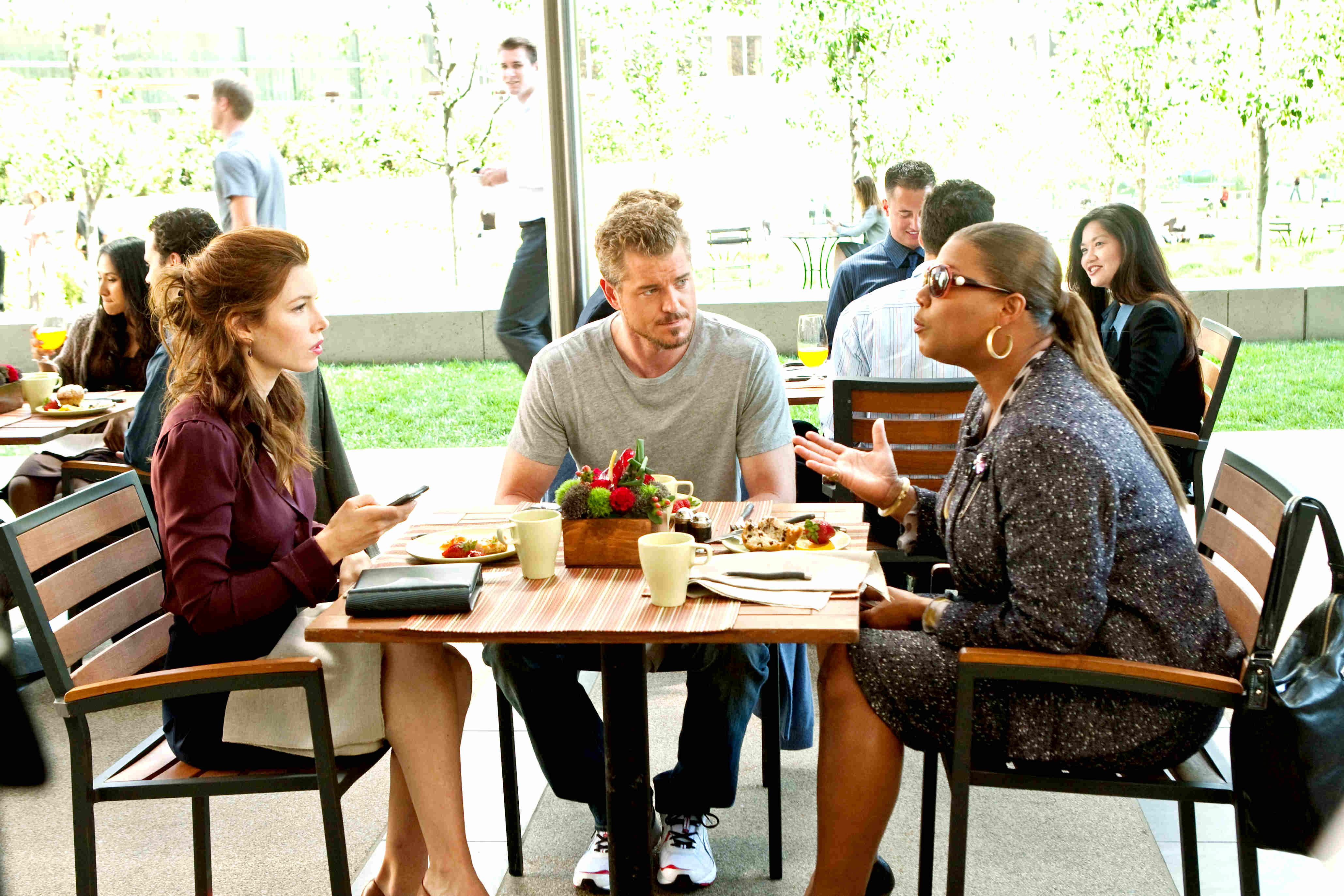Jessica Biel, Eric Dane and Queen Latifah in New Line Cinema's Valentine's Day (2010)