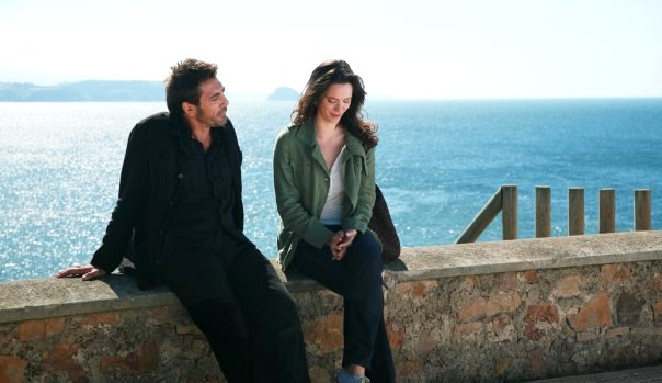 Javier Bardem stars as Juan Antonio and Rebecca Hall stars as Vicky in The Weinstein Company's Vicky Cristina Barcelona (2008)