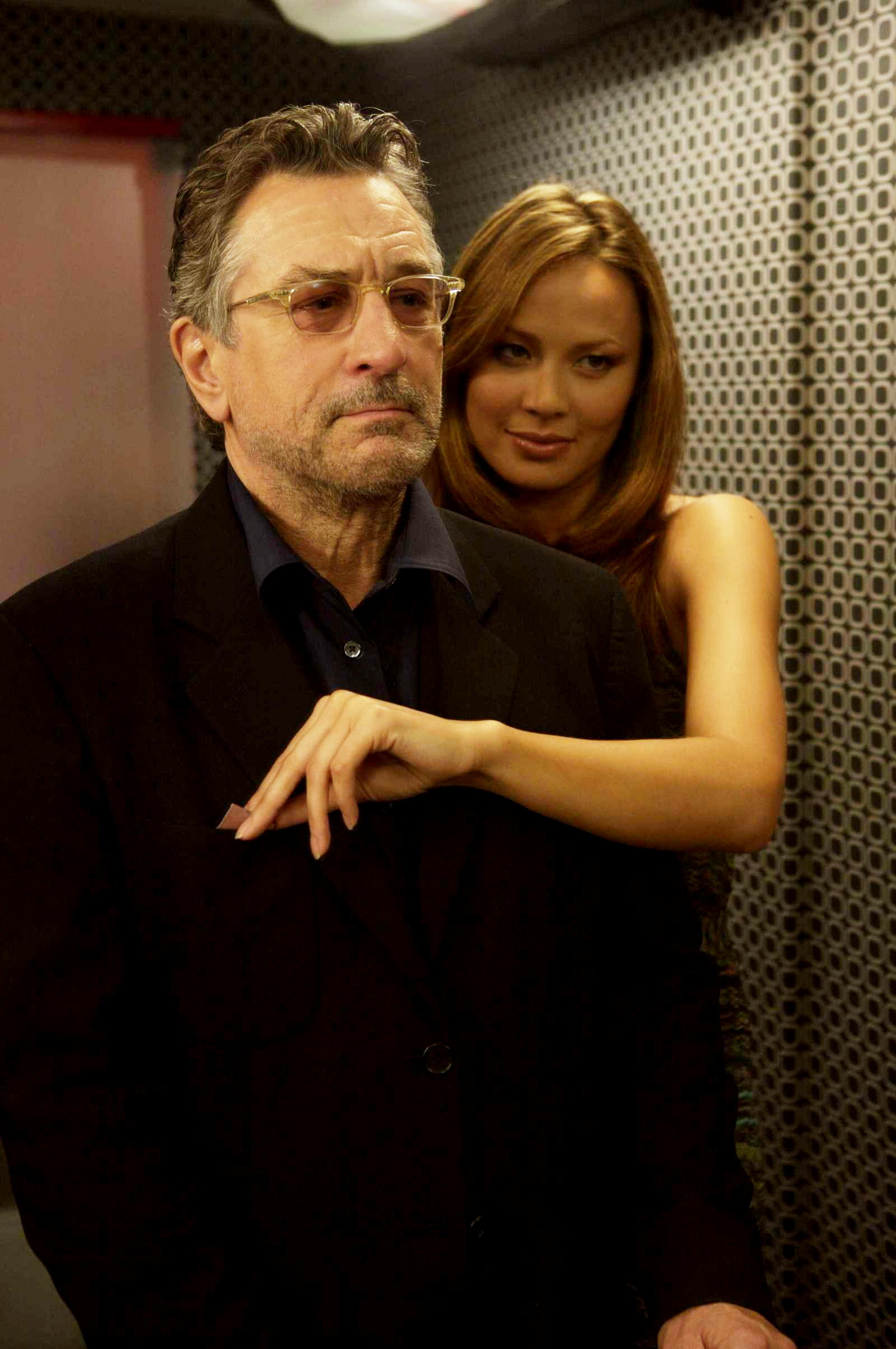 De Niro and Woman in What Just Happened?