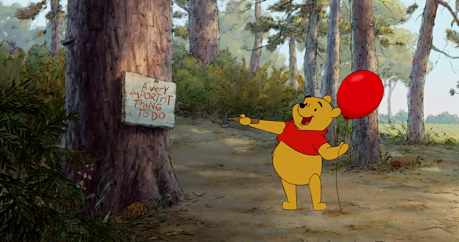 Charming A Scene From Walt Disney Picturesu0027 Winnie The Pooh (2011)