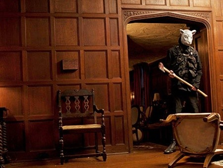 A scene from Lionsgate Films' You're Next (2013)