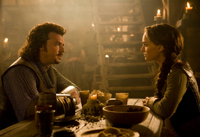 Danny McBride stars as Thadeous and Natalie Portman stars as Isabel in in Universal Pictures' Your Highness (2010)