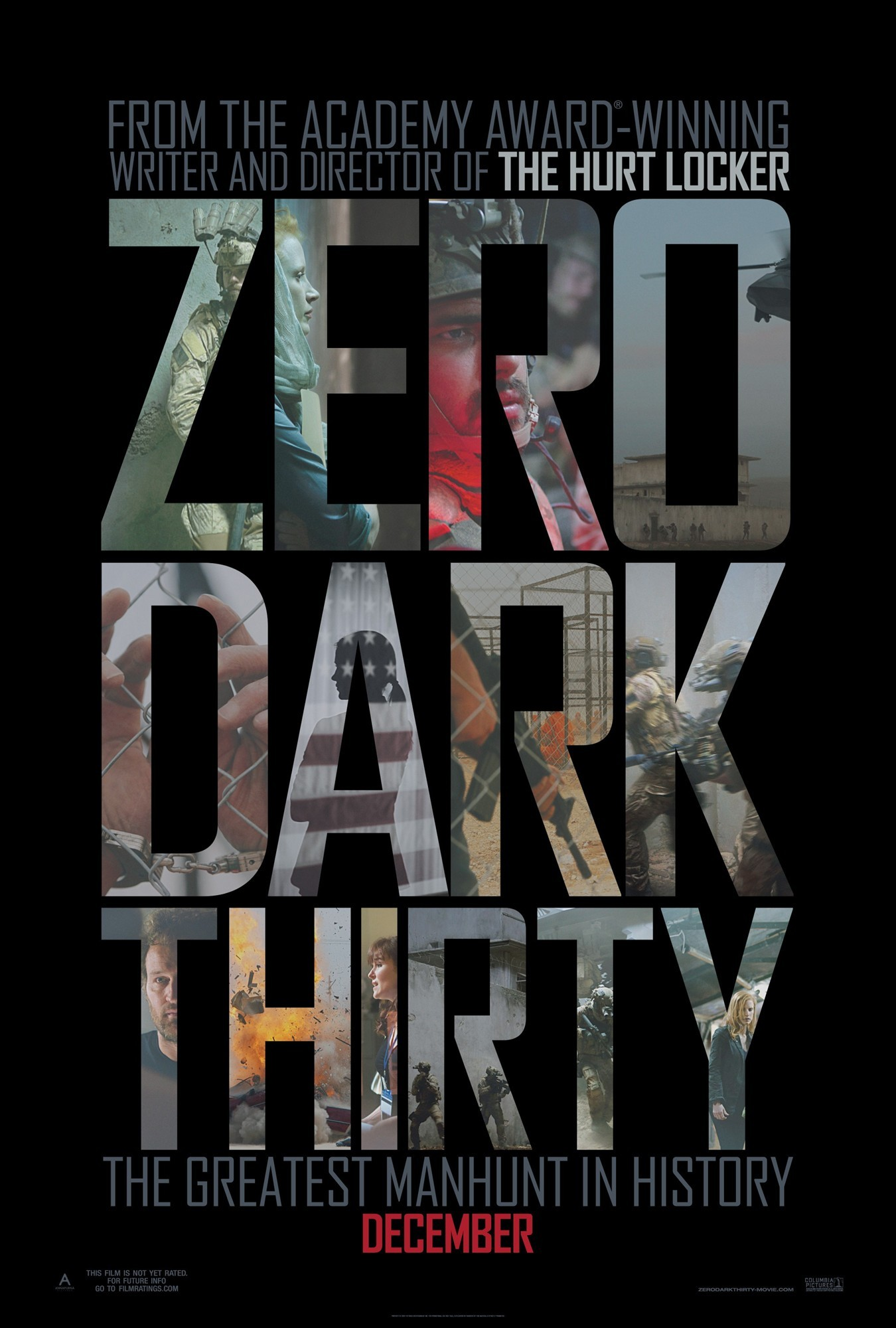Poster of Columbia Pictures' Zero Dark Thirty (2012)