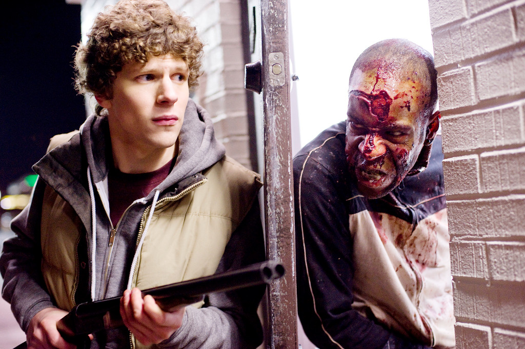 Jesse Eisenberg stars as Columbus in Columbia Pictures' Zombieland (2009)