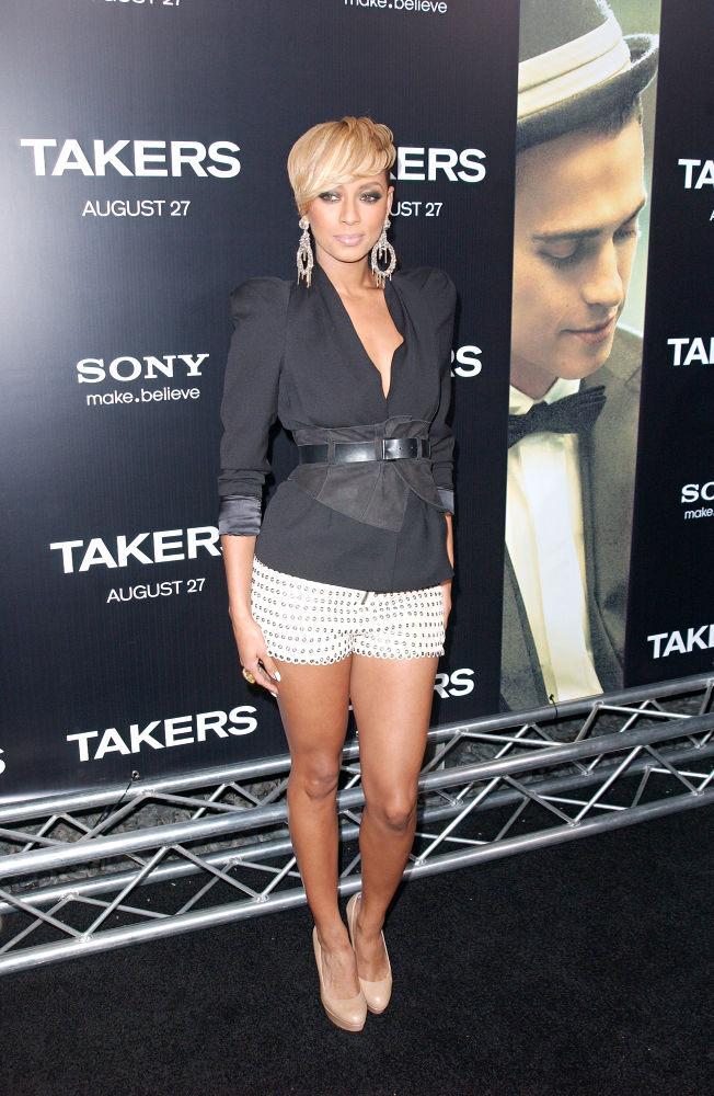 Keri Hilson<br>Los Angeles Premiere of 'Takers' - Arrivals