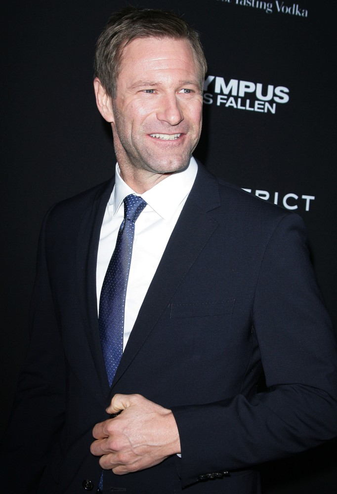 Aaron Eckhart Picture 37 - Los Angeles Premiere of Olympus ...