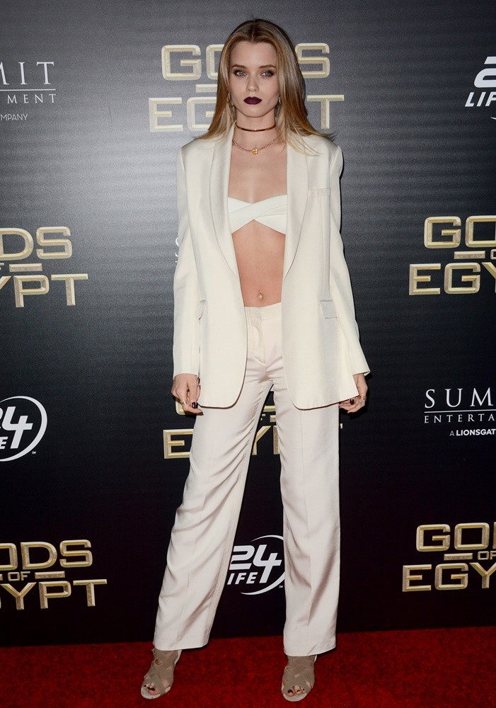 Abbey Lee Kershaw<br>Gods of Egypt New York Premiere - Red Carpet Arrivals