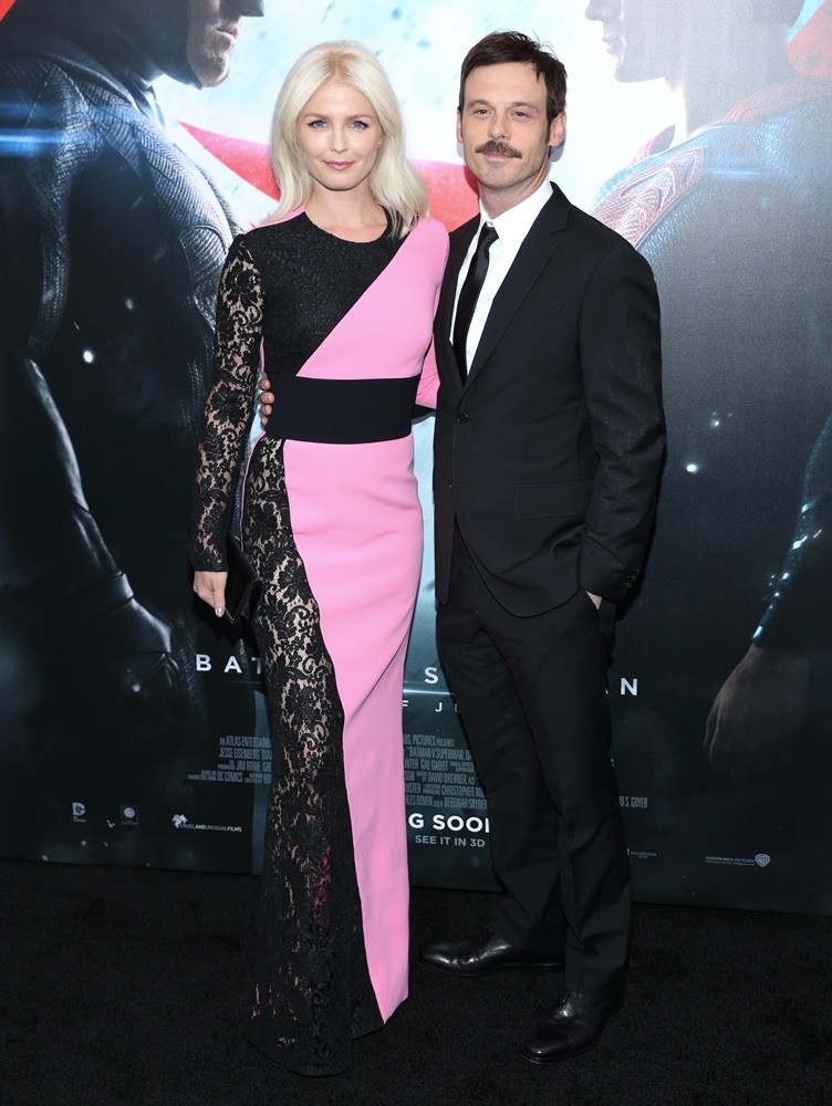 Whitney Able, Scoot McNairy<br>Batman v Superman: Dawn of Justice New York Premiere - Red Carpet Arrivals
