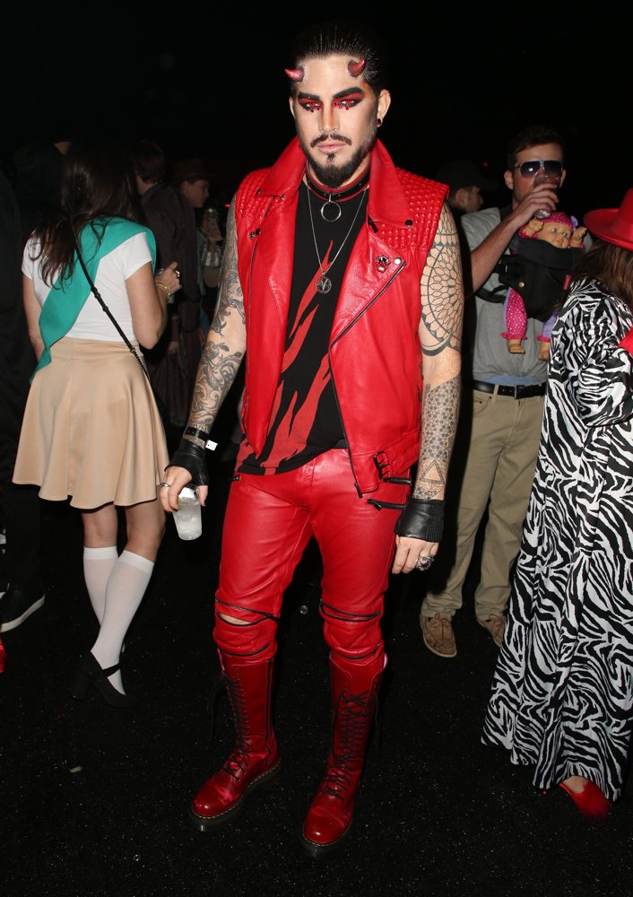 Adam Lambert<br>Just Jared's 7th Annual Halloween Party