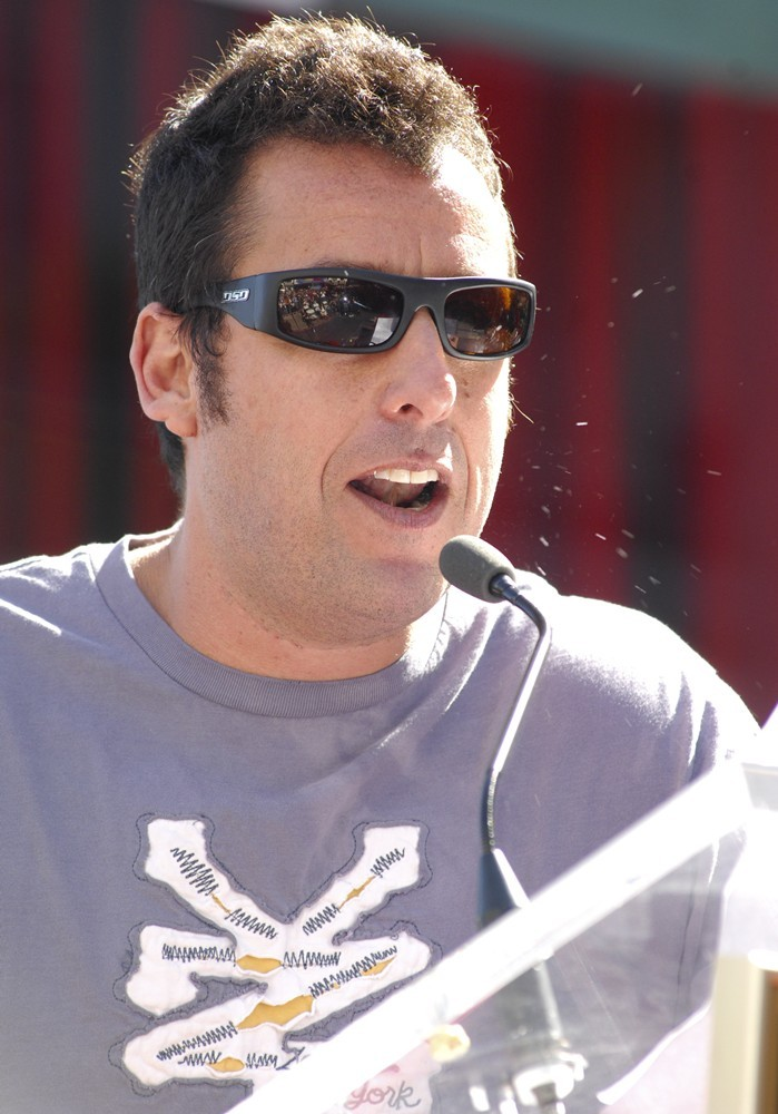Adam Sandler<br>Jennifer Aniston Is Honored with A Star on The Hollywood Walk of Fame