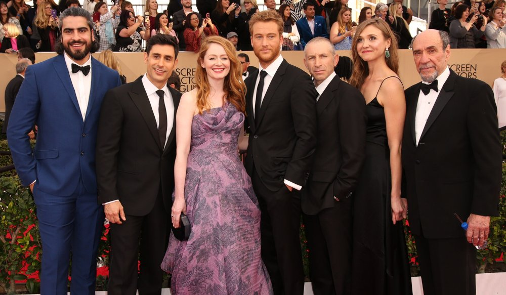 Atheer Adel, Rene Ifrah, Miranda Otto, Alexander Fehling, Mark Ivanir, Sarah Sokolovic, F. Murray Abraham<br>22nd Annual Screen Actors Guild Awards - Arrivals
