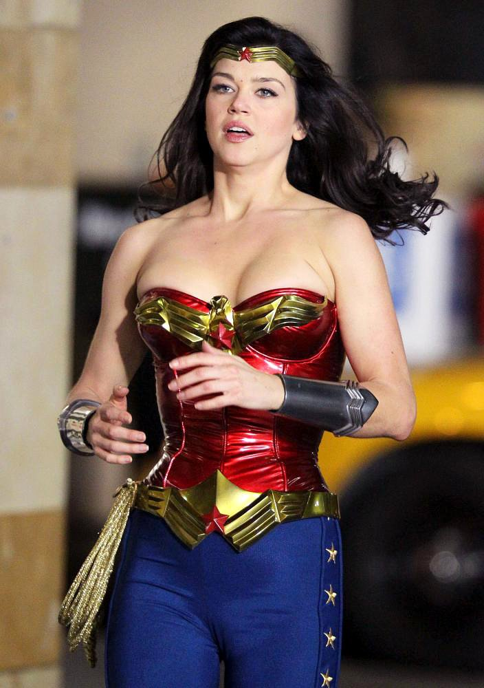 Filming on The Set of Wonder Woman