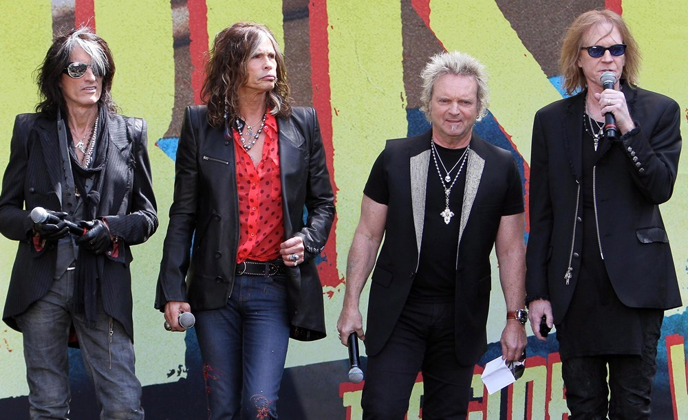 Aerosmith Announce Their New Global Warming Tour