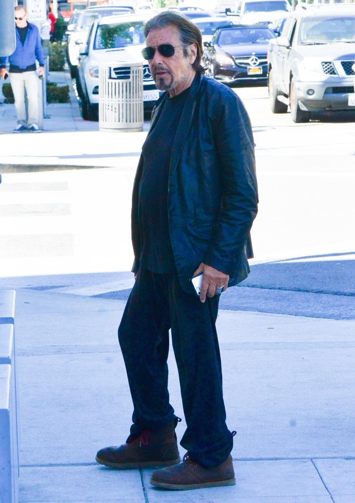 Al Pacino<br>Al Pacino Steps Out for Lunch
