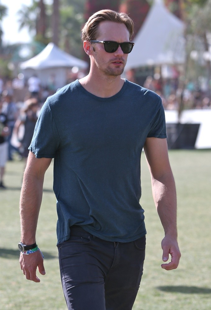 Alexander Skarsgard<br>The 2013 Coachella Valley Music and Arts Festival - Week 1 Day 3