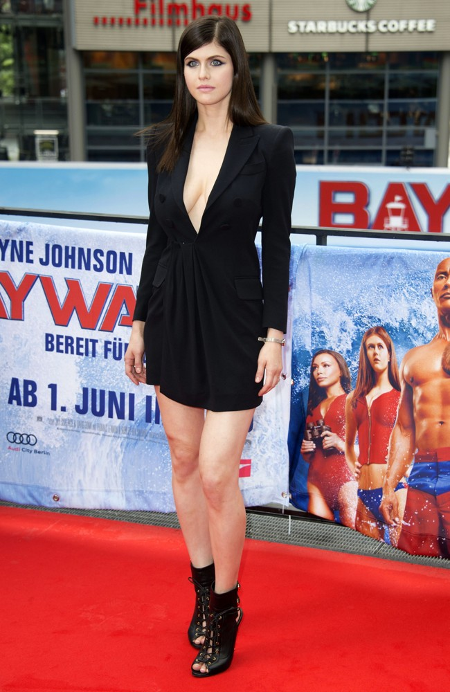Alexandra Daddario<br>Baywatch Photocal