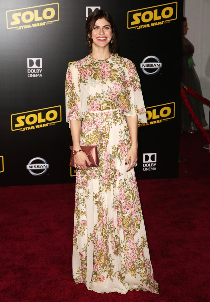 Alexandra Daddario<br>Premiere of Disney Pictures and Lucasfilm's Solo: A Star Wars Story - Arrivals