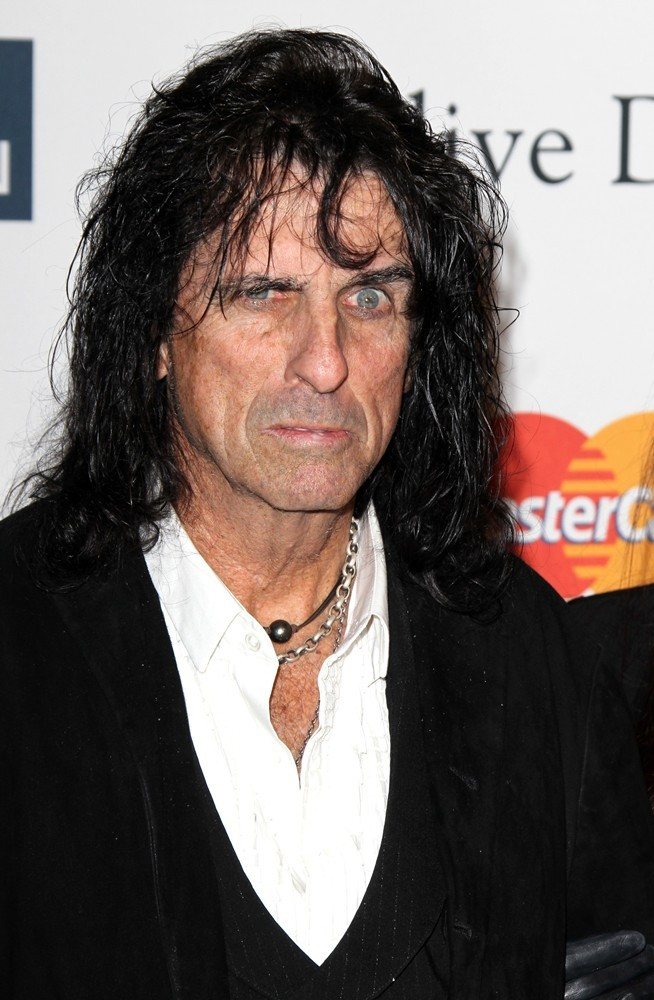 Alice Cooper<br>Clive Davis and The Recording Academy's 2013 Pre-Grammy Gala and Salute to Industry Icons