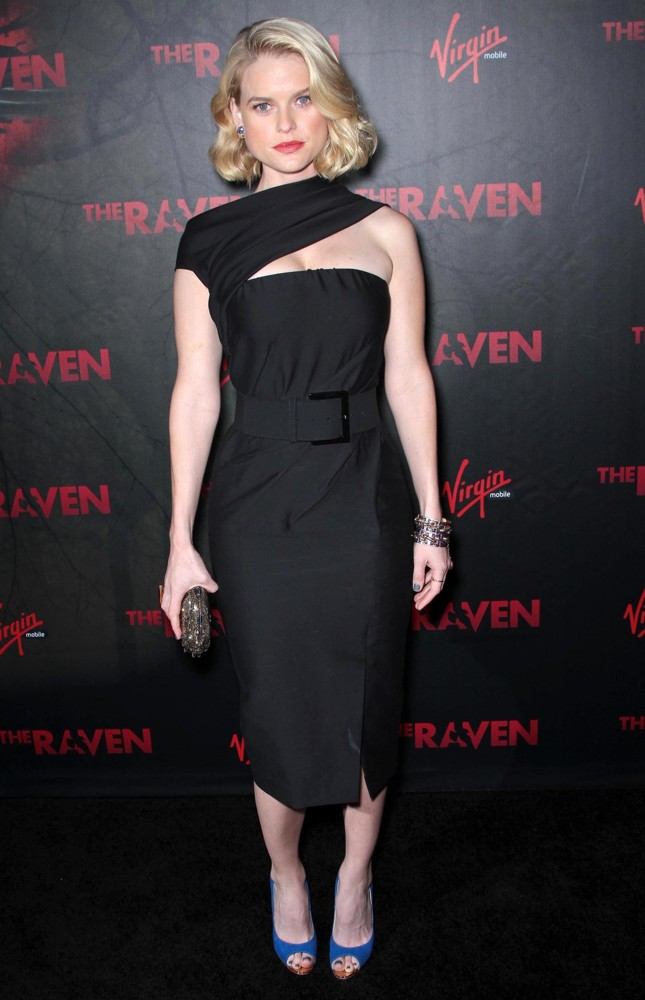 Special Screening of Relativity Media's The Raven - Arrivals