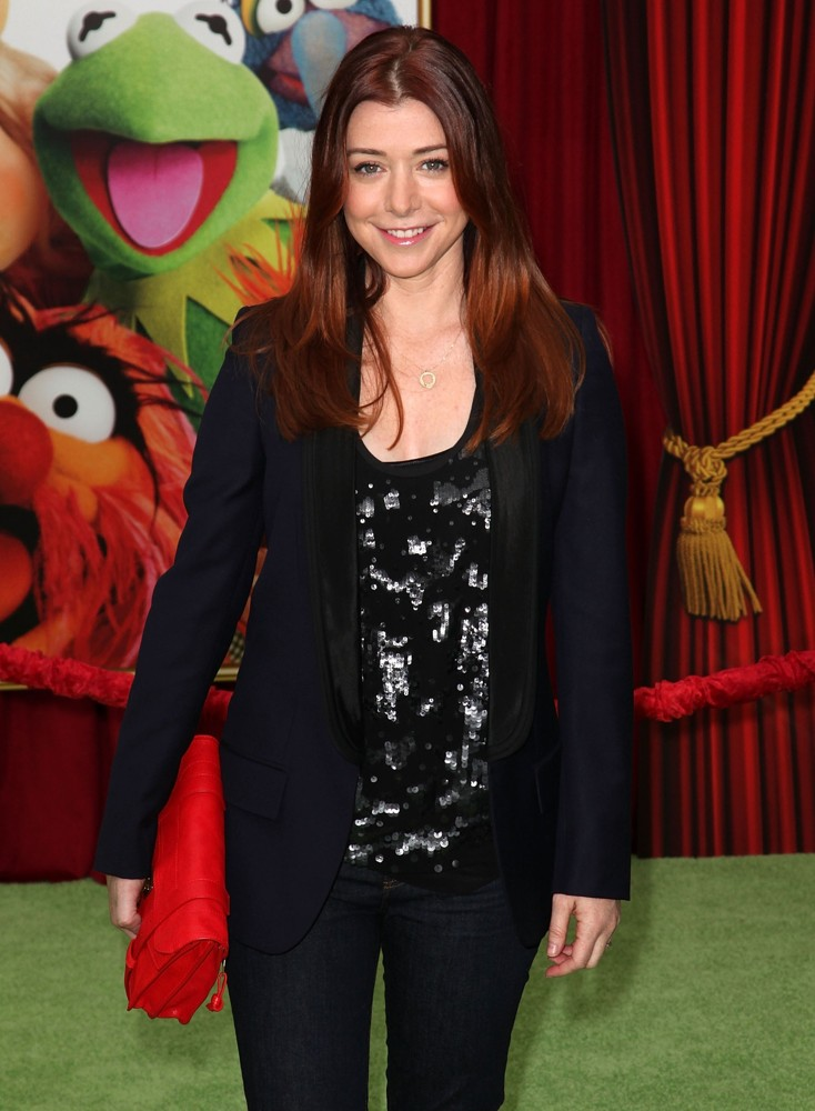 Alyson Hannigan<br>The Premiere of Walt Disney Pictures' The Muppets - Arrivals