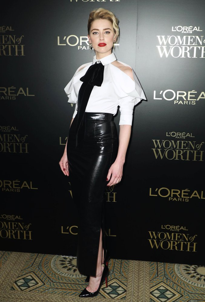 Amber Heard<br>L'Oreal Paris Hosts 14th Annual Women of Worth Awards
