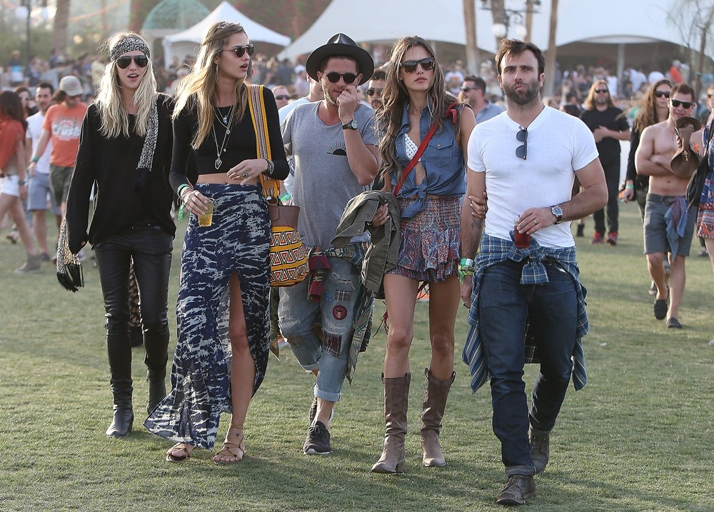 Alessandra Ambrosio, Jamie Mazur<br>The 2013 Coachella Valley Music and Arts Festival - Week 1 Day 3